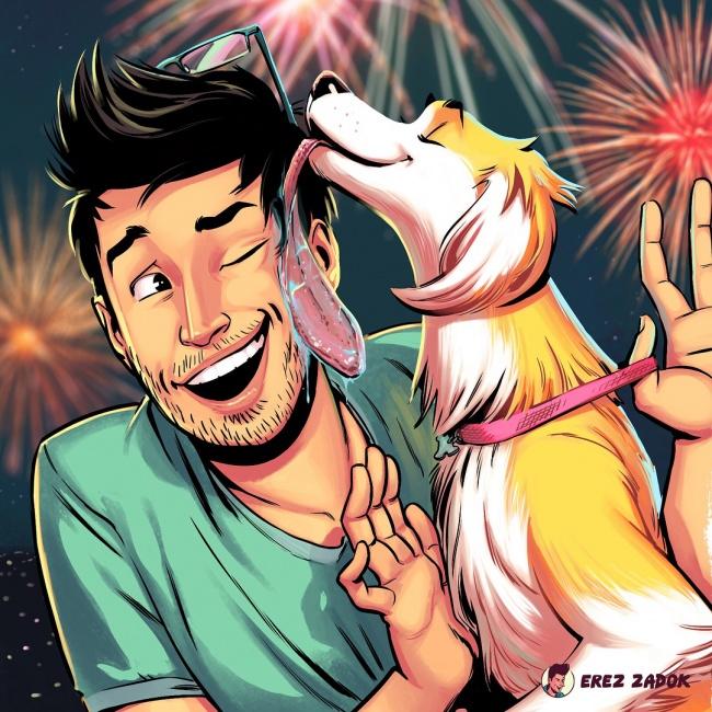 Razmišljate da li da nabavite psa? Posle ovih urnebesnih ilustracija nećete se više premišljati!