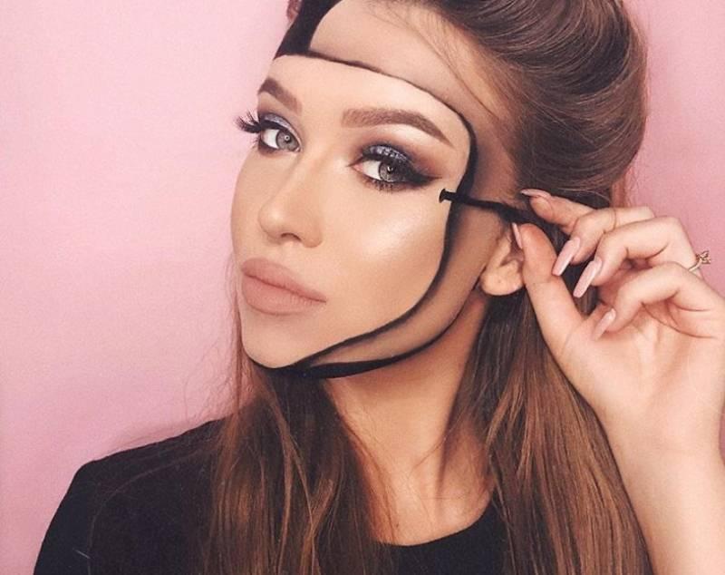 Ova devojka privlači pažnju na društvenim mrežama svojim neobičnim 3D šminkanjem