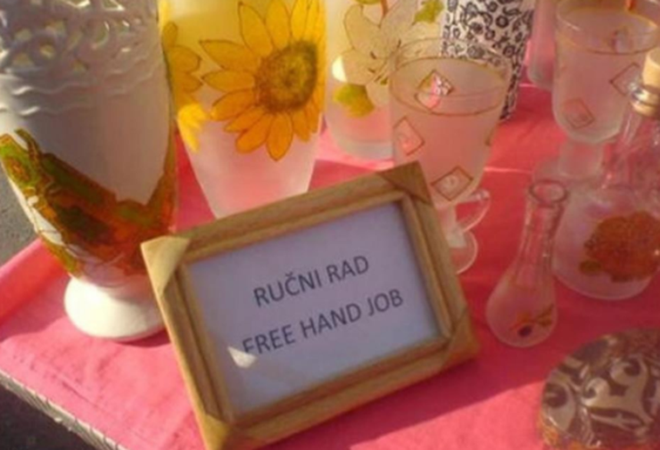 Free hand job? Pogledajte najveće ispale u srpsko-engleskim prevodima