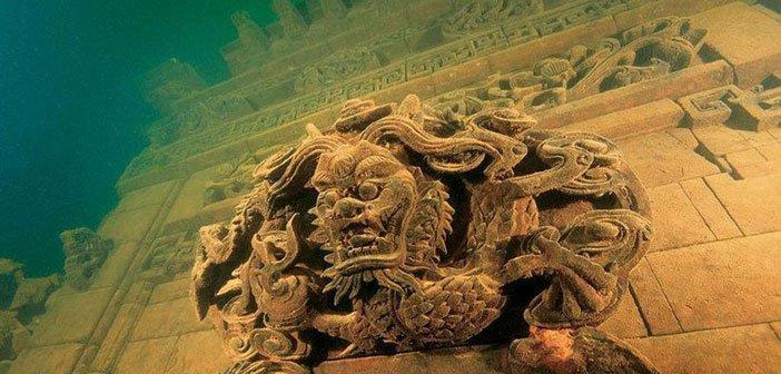 Kako izgledaju potopljeni gradovi čuvenih istorijskih civilizacija