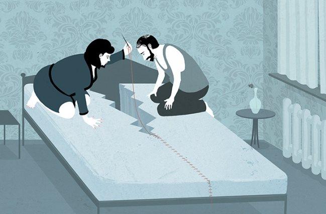 Ilustracije ovog umetnika prikazuju svet onakvim kakav zaista jeste