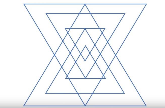 Možete li da prebrojite sve trouglove na slici?