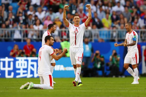 Reakcije fudbalera Srbije odmah nakon trijumfa nad Kostarikom! (FOTO)