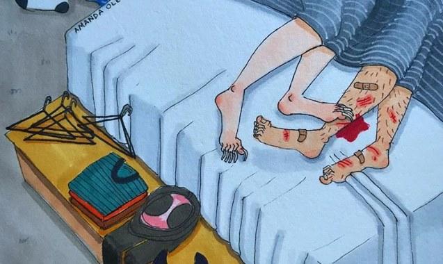 Ilustracije koje pokazuju kako ljubav izgleda kada niko ne gleda