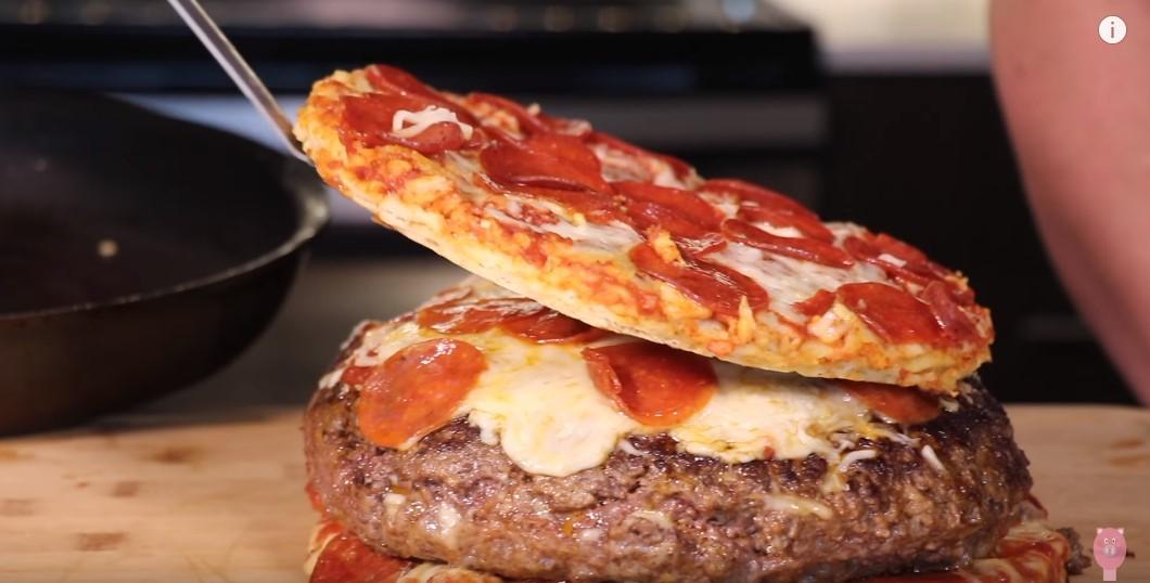Kakav šok za arterije: Pica u burgeru u pici!
