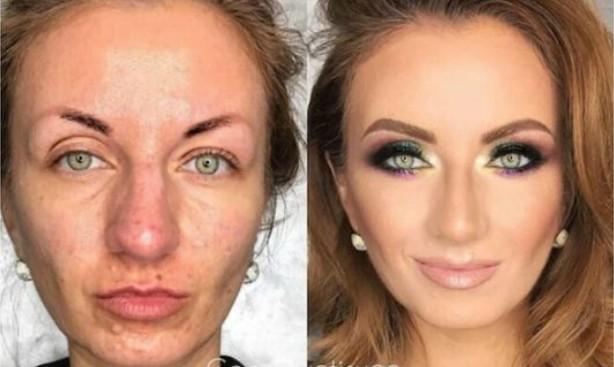 Obične žene okačile su na Pinterest fotografije pre i posle šminkanja i svaka im čast zbog toga!