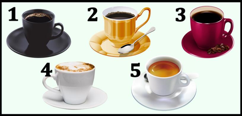 Iz koje šolje biste najradije popili kafu?