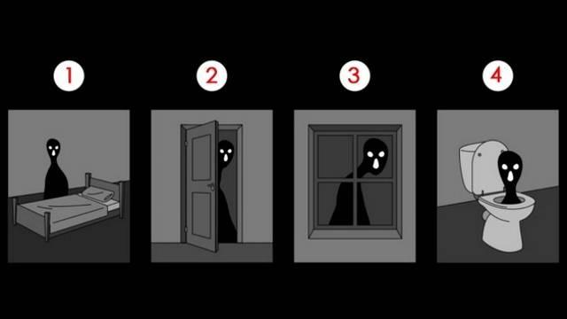 Izaberite sliku i saznajte koji je vaš najveći strah