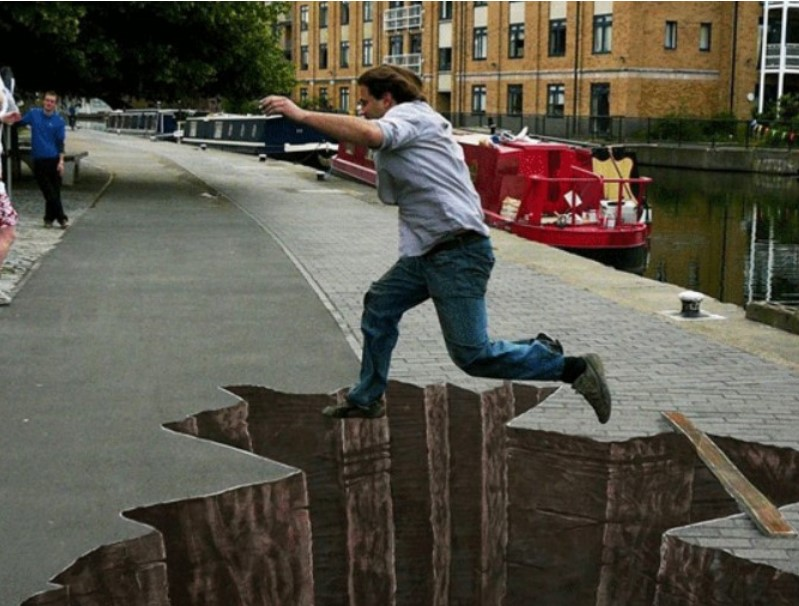 Da li ste dovoljno hrabri da koračate ovim 3D ulicama?