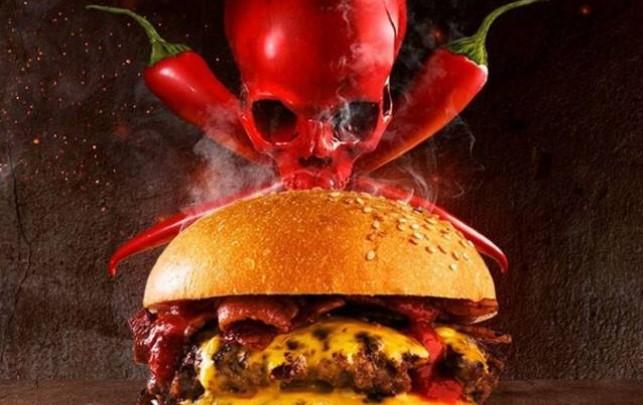 """""""Death wish"""" – Hamburger toliko ljut da morate da potpišete ugovor pre nego što ga probate"""
