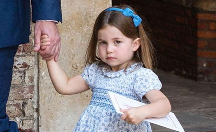 Oduševila sve na krštenju mlađeg brata: Ljuta princeza Šarlot je najslađa stvar koju ćete videti danas