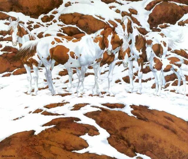 Slika koja zadaje muke svima –  koliko ovde zaista ima konja?