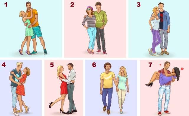Pažljivo pogledajte sliku i razmislite – koji par vam izgleda najsrećnije?