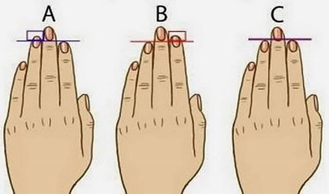 Koji prst vam je duži? Na osnovu dužine prstiju možete saznati mnogo o sebi i svojoj budućnosti