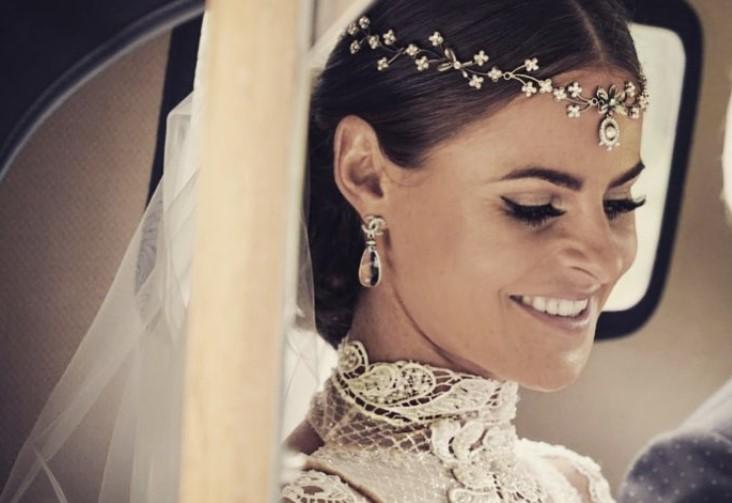 Kada se udaje modna kreatorka, dobijemo venčanicu godine! Zaista oduzima dah!