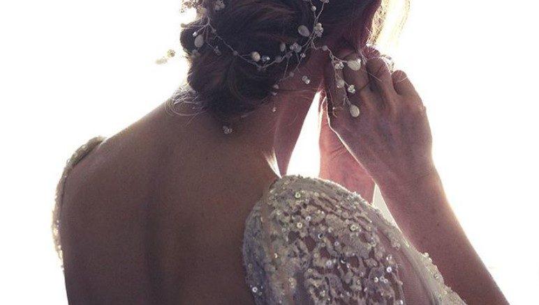 """Udala se """"Devojka od milion dolara"""" i to u čarobnoj venčanici za čiju izradu je bilo potrebno čak 150 sati!"""