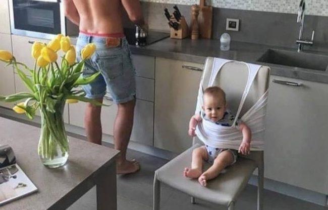 Urnebesno: Kada očevi čuvaju decu ovakve situacije postaju sasvim normalne!