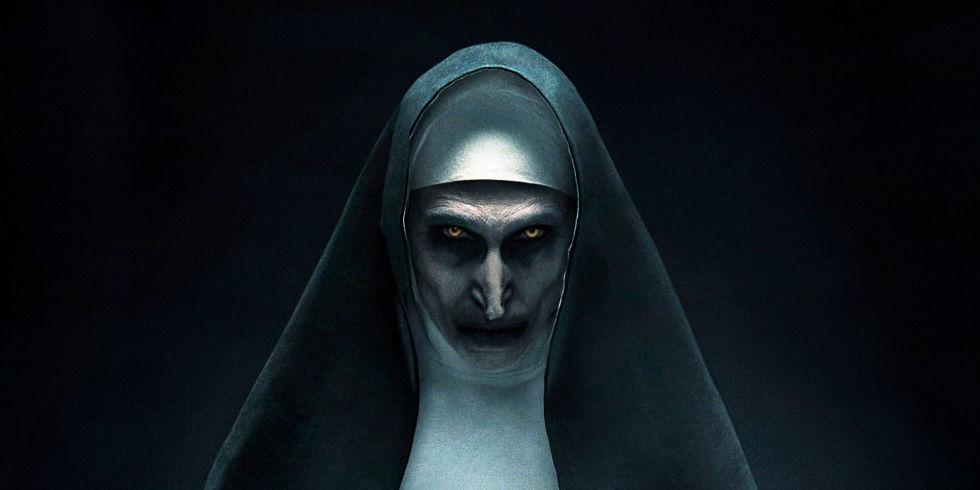 """Glumica iz horor filma """"The Nun"""" i bez maske izgleda podjednako zastrašujuće"""