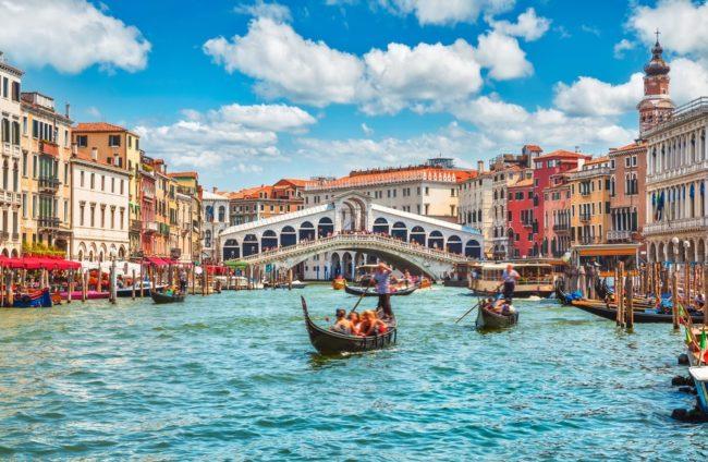 Delfini uočeni kako plivaju u kanalima Venecije!