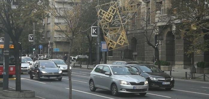 Beograd: Pala novogodišnja rasveta – obustavljen saobraćaj