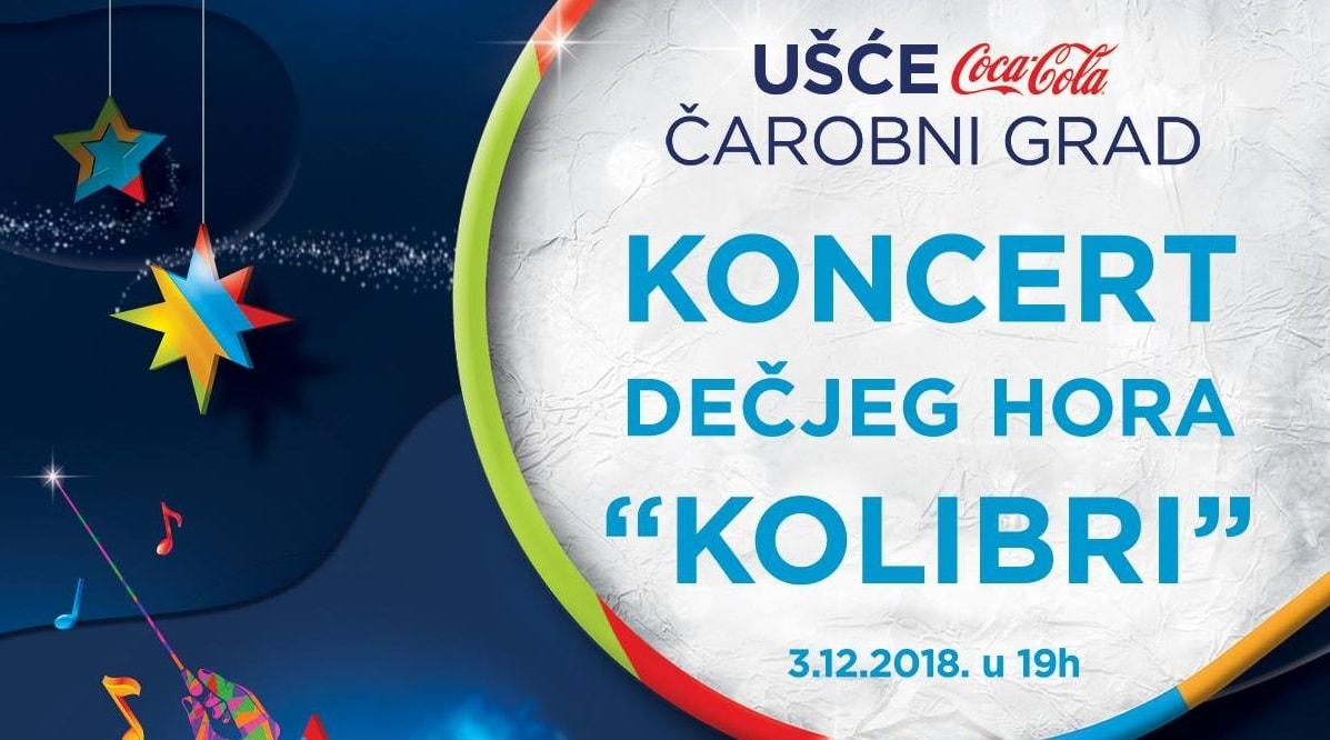 """Čaroliju u Ušću otkrivaju hor """"Kolibri"""", orkestar Beogradska sinfonieta uz karneval 60 Deda Mrazova"""