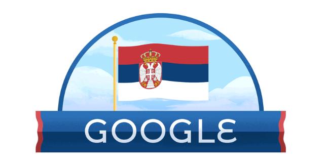 Google doodle u čast Sretenja!