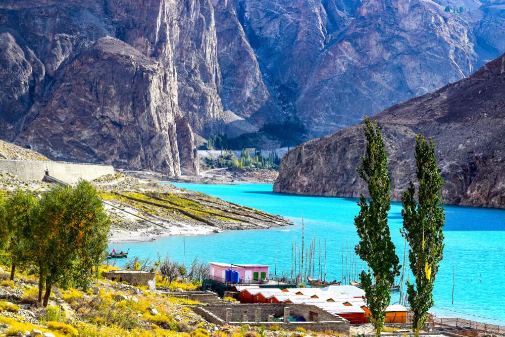 Jezero Atabad – najlepši biser Pakistana