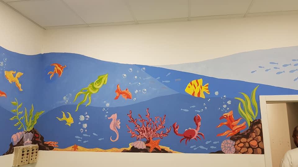 Studenti oslikali ORL kliniku u Nišu