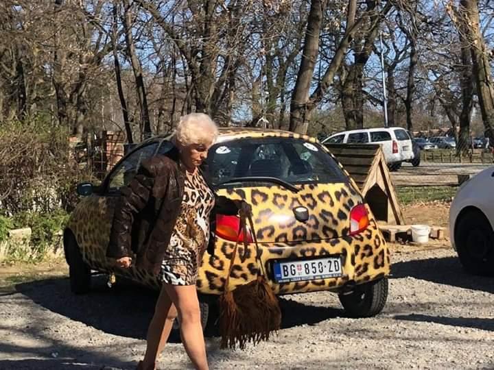 Beogradska baka koja obožava životinjske šare
