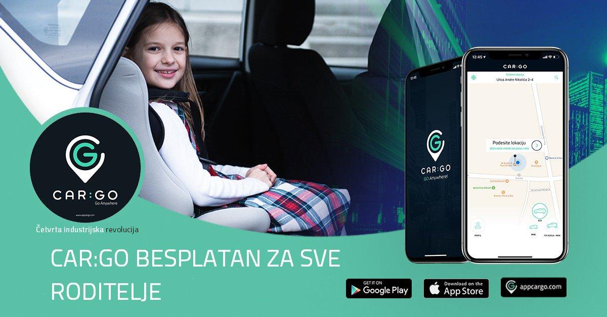 Car:Go danas besplatan za roditelje sa decom