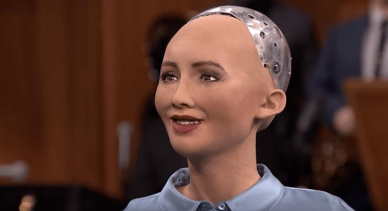 U Beograd stigla Sofija, prvi robot građanin na svetu