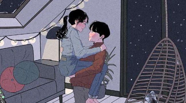 Ilustracije ljubavi kakvu svako želi u svom životu