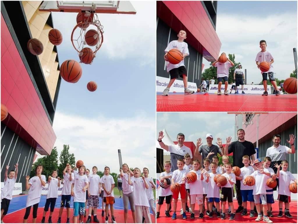 Besplatna školica košarke ispred Ušća