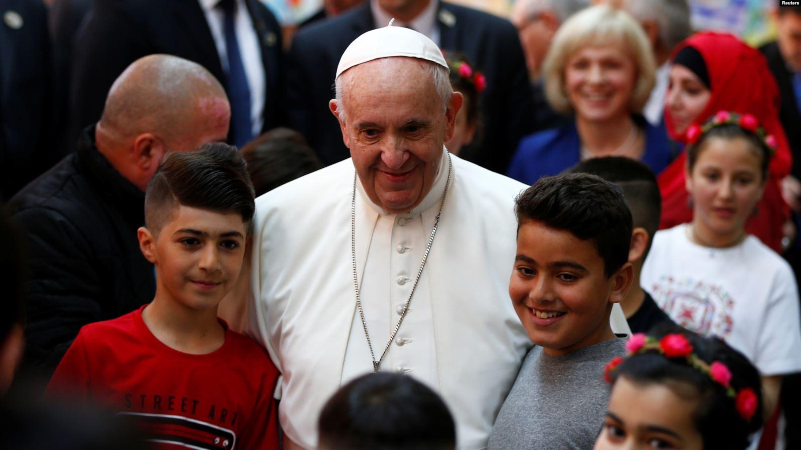 Papa Franja posetio Skoplje, rodni grad Majke Tereze