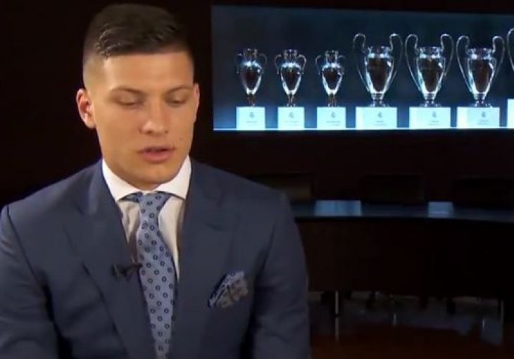 Jovićev prvi intervju na srpskom jeziku za Real Madrid! (VIDEO)