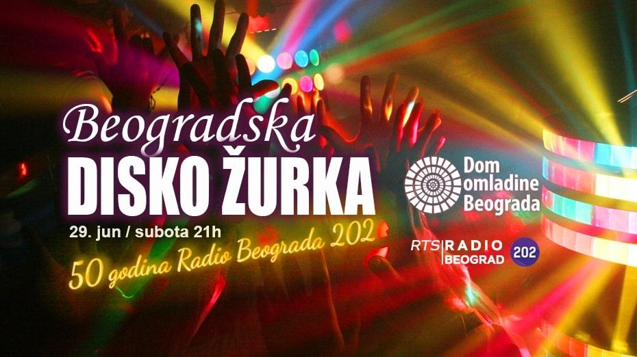 Beogradska disko žurka u Domu omladine