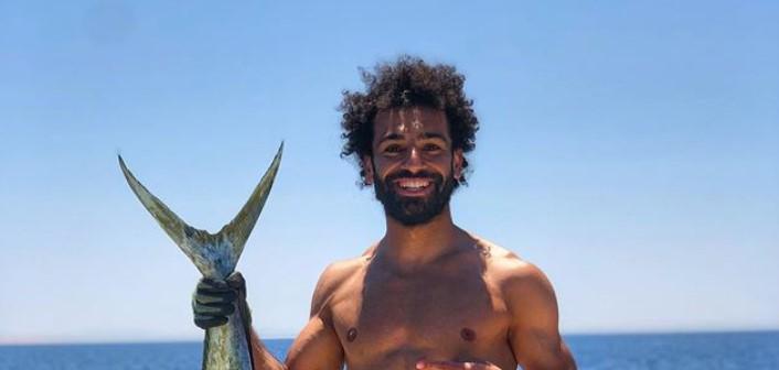 Ovako Mohamed Salah uživa na zasluženom odmoru! (FOTO)