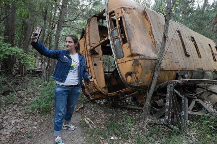 Bizarne fotografije influensera u Černobilju!
