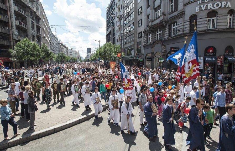 Beograd danas slavi krsnu slavu – Spasovdan!