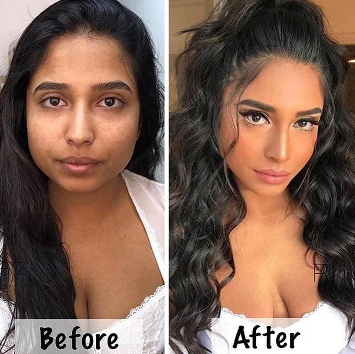 Neverovatne transformacije uz pomoć šminke