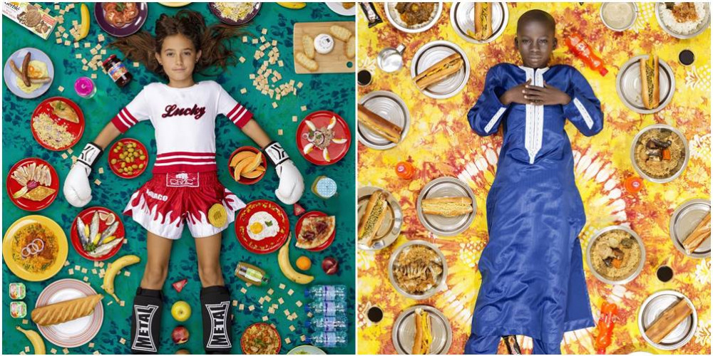 Čarobne fotografije pokazuju šta jedu deca širom sveta