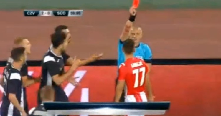 Strašna povreda fudbalera koji je bio Gobeljićeva žrtva! (VIDEO)