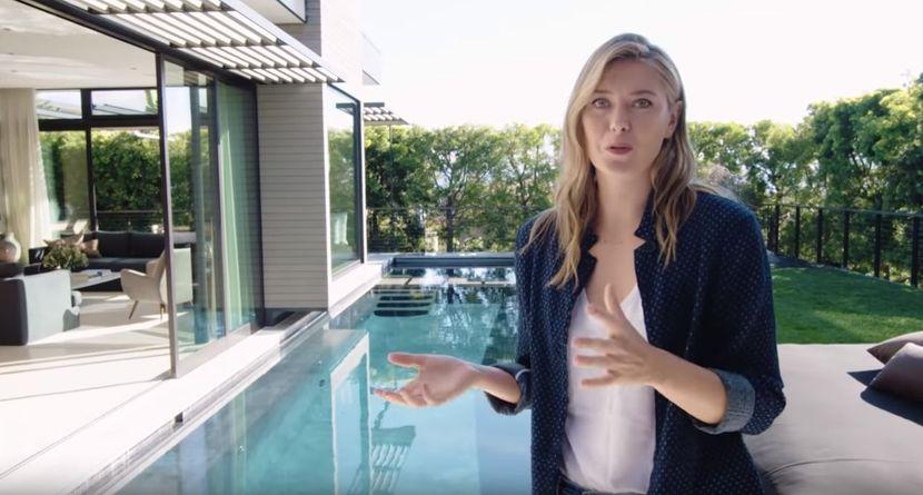 Vila koju poseduje Marija Šarapova je jedna od najlepših ikada! (VIDEO)