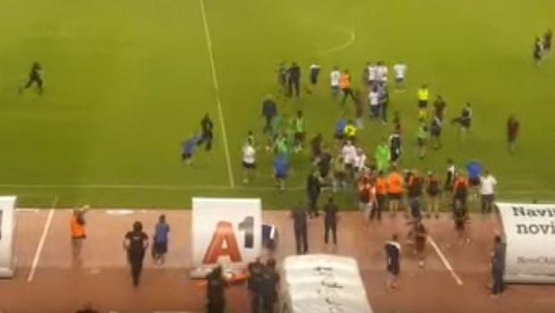 Navijači Hajduka napali fudbalere nakon eliminacije iz Lige Evrope! (VIDEO)
