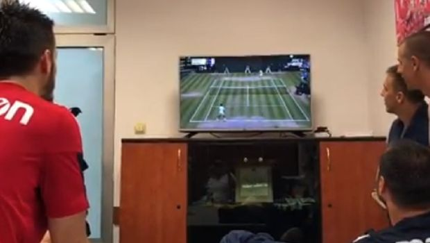 Ovako su igrači Zvezde reagovali u svlačionici nakon Novakove pobede! (VIDEO)