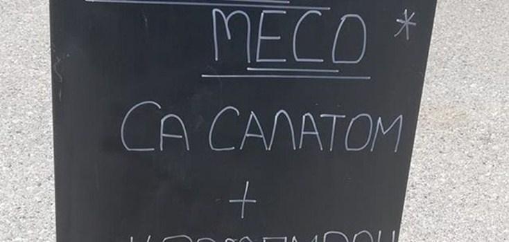 Natpis ispred restorana u Grčkoj oduševio srpske turiste