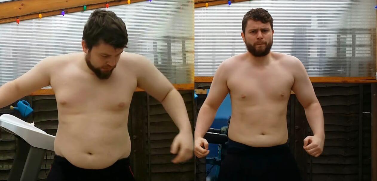 """Kroz """"timelapse"""" video prikazao kako je izgubio 22 kilograma"""