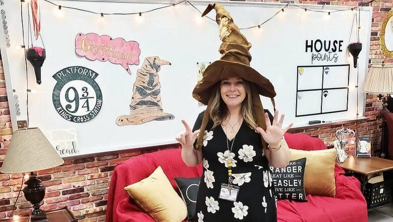 Profesorka učionicu pretvorila u školu za čarobnjake