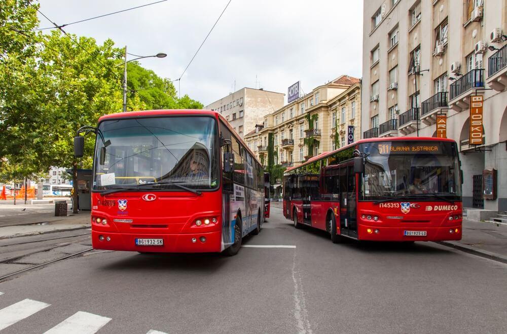 Od danas na snazi izmenjen režim linija gradskog prevoza