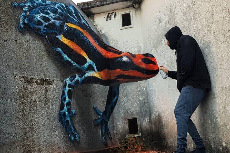 Fantastični 3D grafiti koji će vas ostaviti bez teksta